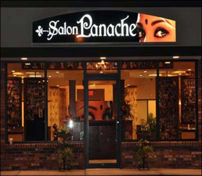 eyebrow threading salon panache